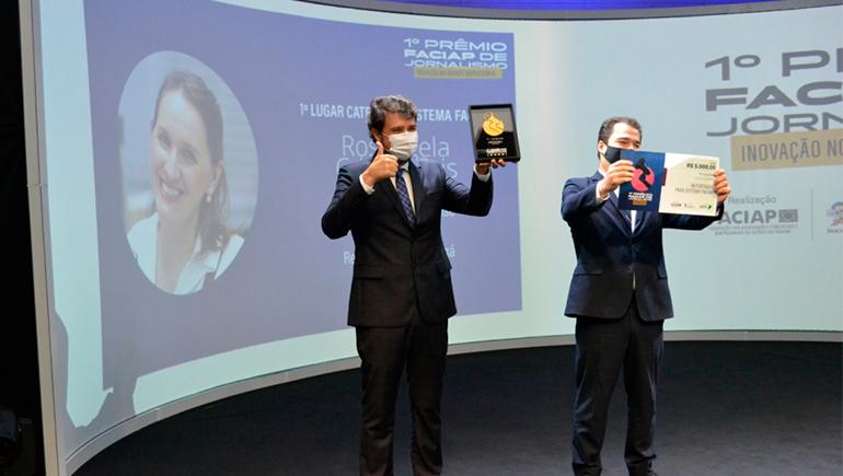 Três primeiros lugares de prêmio são da Revista ACIM