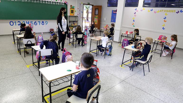 Com trabalho ativo do Sinepe, escolas particulares retomam aulaas presenciais